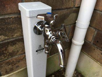 【立水栓へ取り替え】
