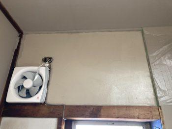 【空き家DK壁をDIYで2度塗り】
