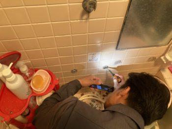 【浴室シャワー水栓の交換】