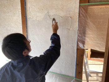 【漆喰塗り壁DIY】