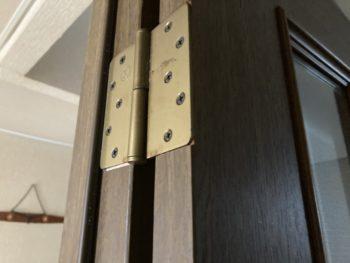 【ドア小口テープ剥離を補修】